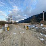 GATE OPENED – at Duck Lake south dike February 8/21
